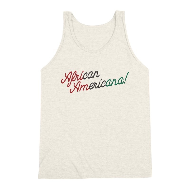 African Americana! Men's Triblend Tank by FWMJ's Shop