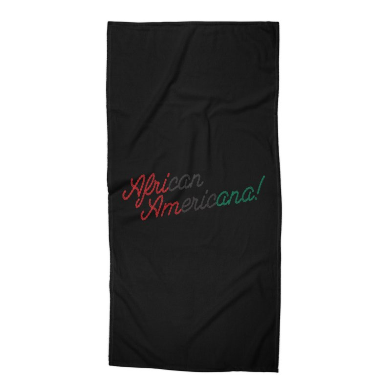 African Americana! Accessories Beach Towel by FWMJ's Shop