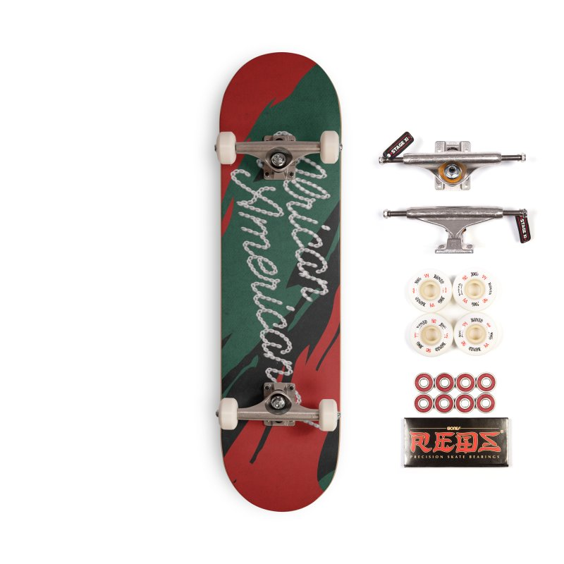 African Americana! Accessories Complete - Pro Skateboard by FWMJ's Shop