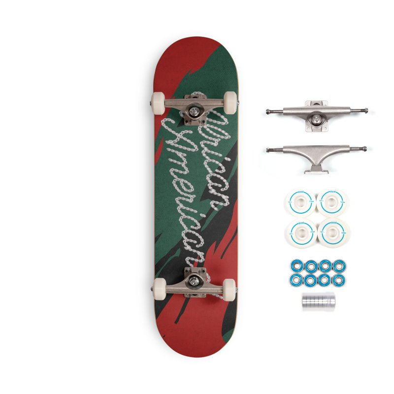 African Americana! Accessories Complete - Basic Skateboard by FWMJ's Shop
