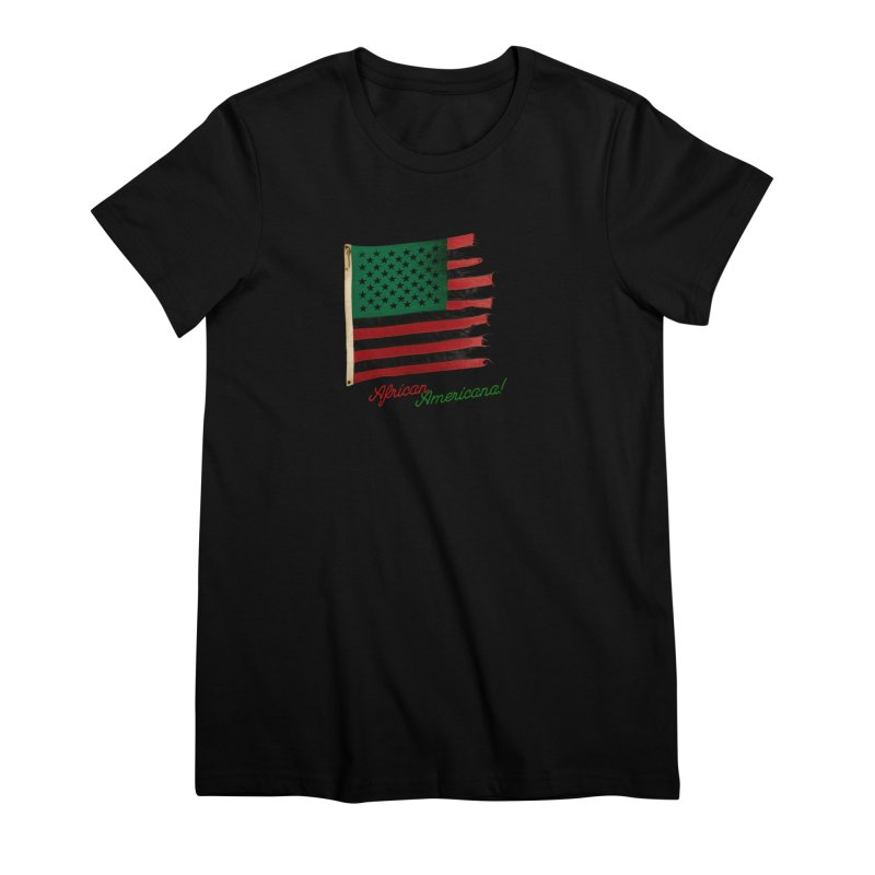 Black Flag Too Women's Premium T-Shirt by FWMJ's Shop
