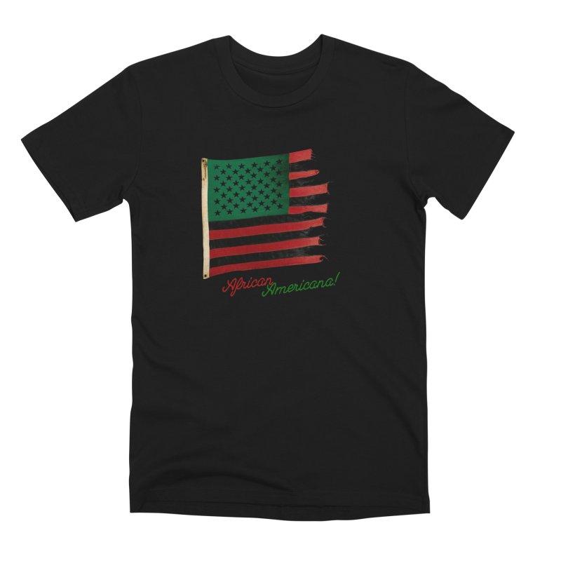 Black Flag Too Men's Premium T-Shirt by FWMJ's Shop