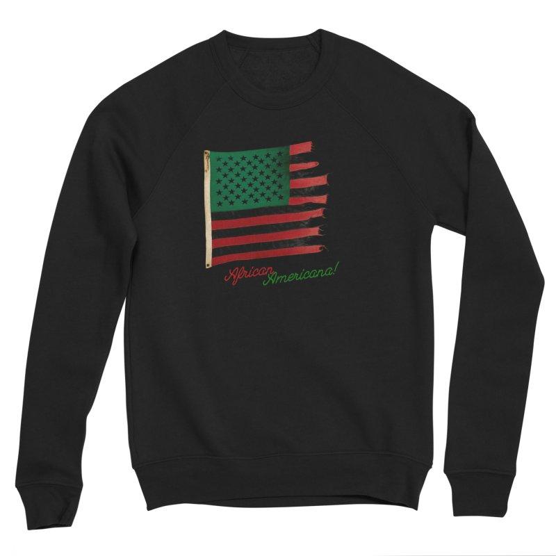 Black Flag Too Men's Sponge Fleece Sweatshirt by FWMJ's Shop