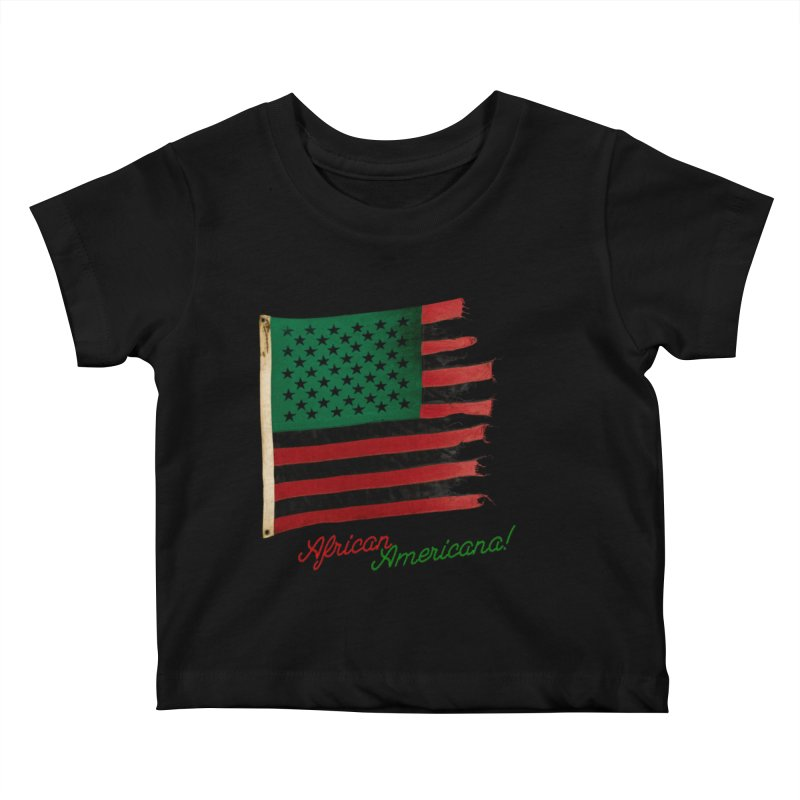 Black Flag Too Kids Baby T-Shirt by FWMJ's Shop