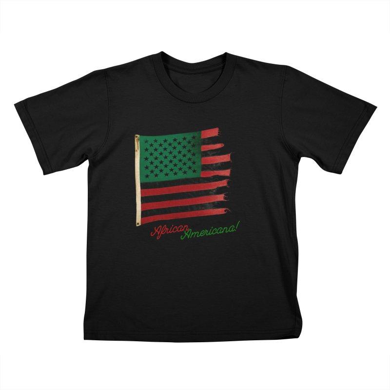 Black Flag Too Kids T-Shirt by FWMJ's Shop