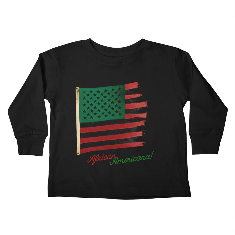 Black Flag Too Kids Toddler Longsleeve T-Shirt by FWMJ's Shop