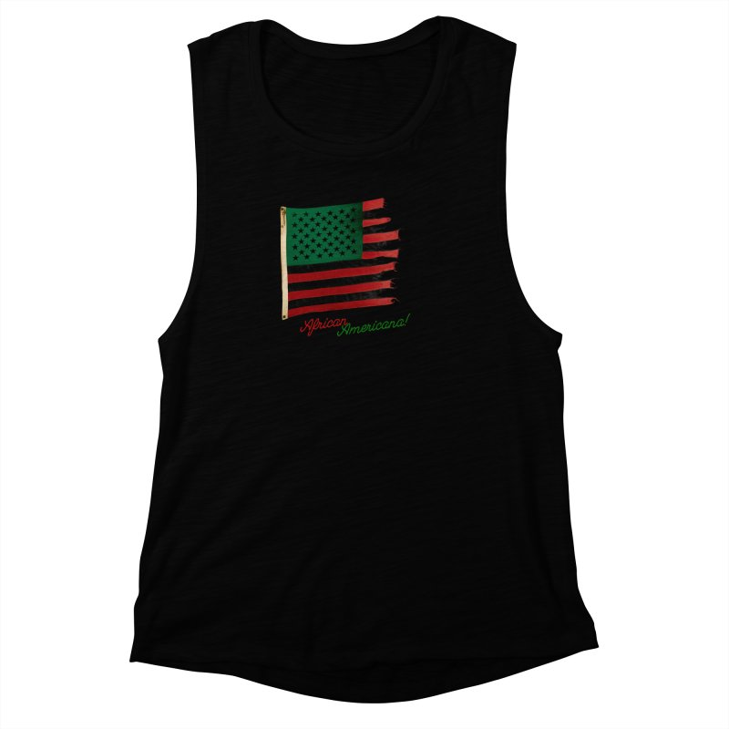 Black Flag Too Women's Muscle Tank by FWMJ's Shop