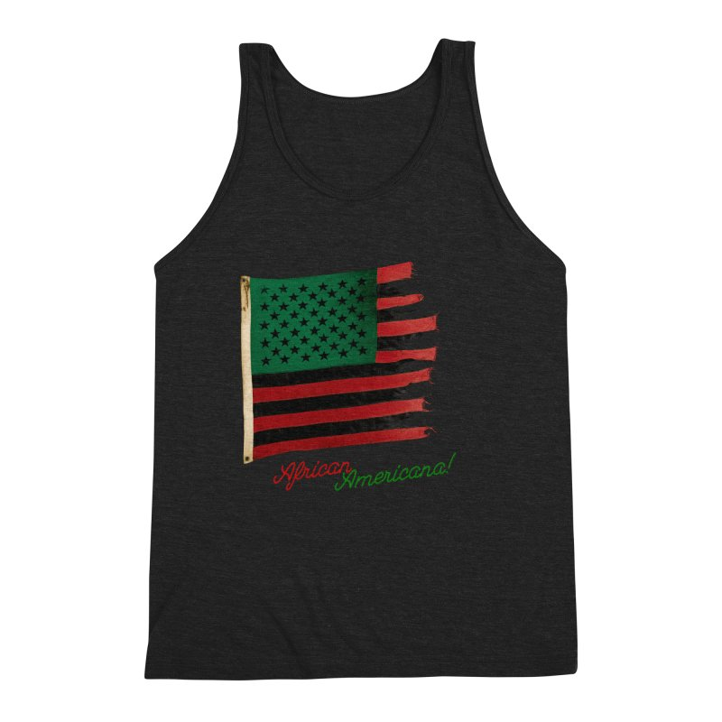 Black Flag Too Men's Triblend Tank by FWMJ's Shop