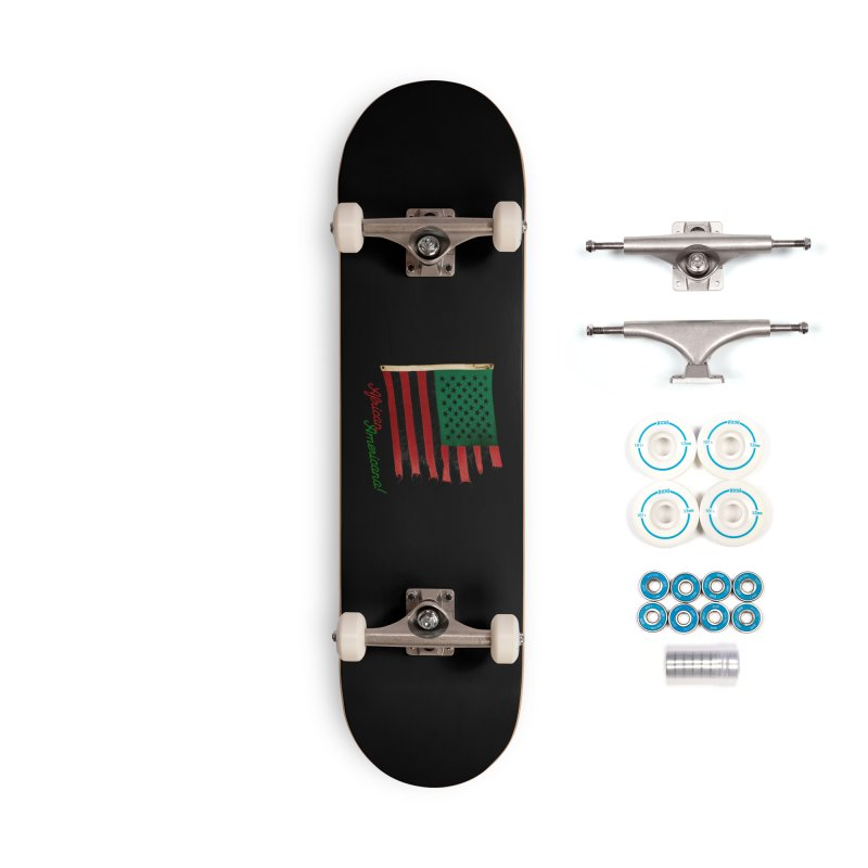Black Flag Too Accessories Complete - Basic Skateboard by FWMJ's Shop