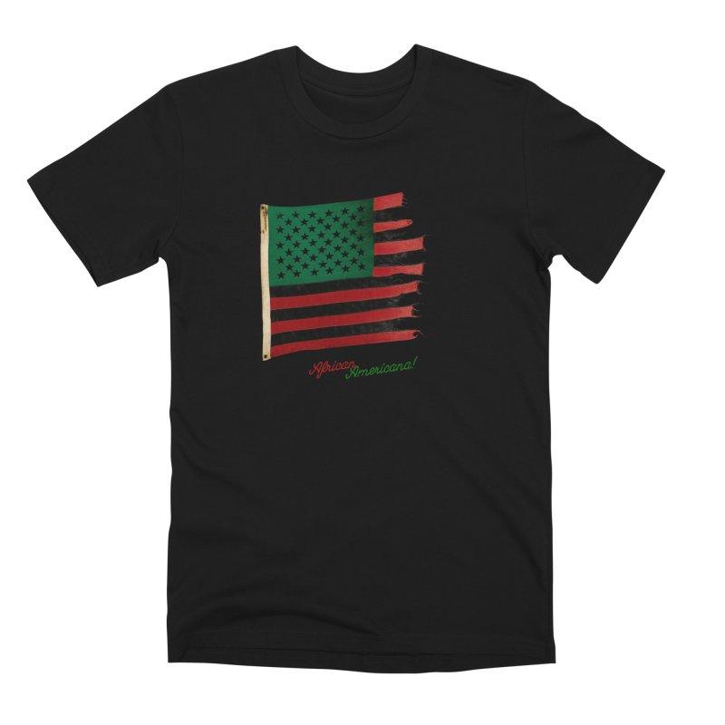 Black Flag Too in Men's Premium T-Shirt Black by FWMJ's Shop