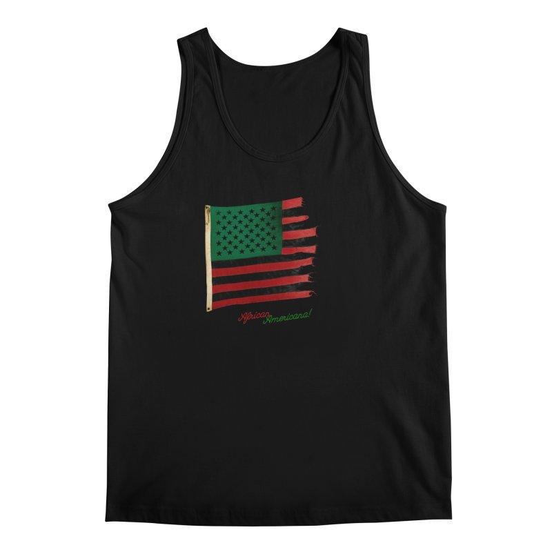 Black Flag Too Men's Regular Tank by FWMJ's Shop