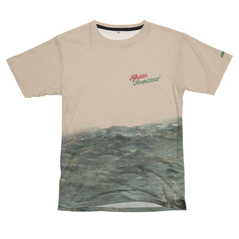 Black Sea Men's French Terry T-Shirt Cut & Sew by FWMJ's Shop