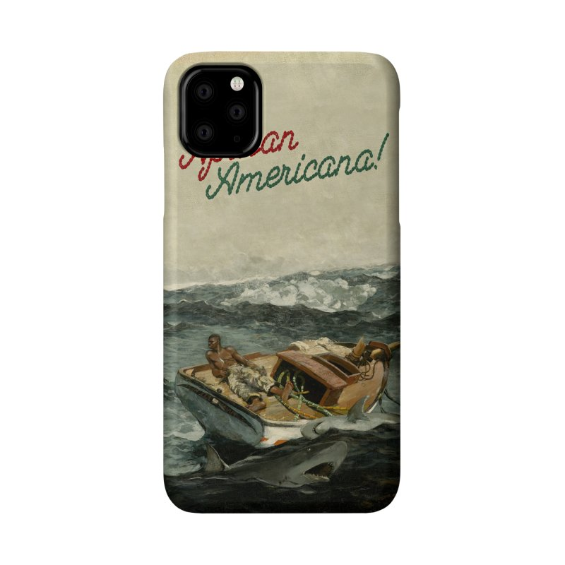 Black Sea Accessories Phone Case by FWMJ's Shop