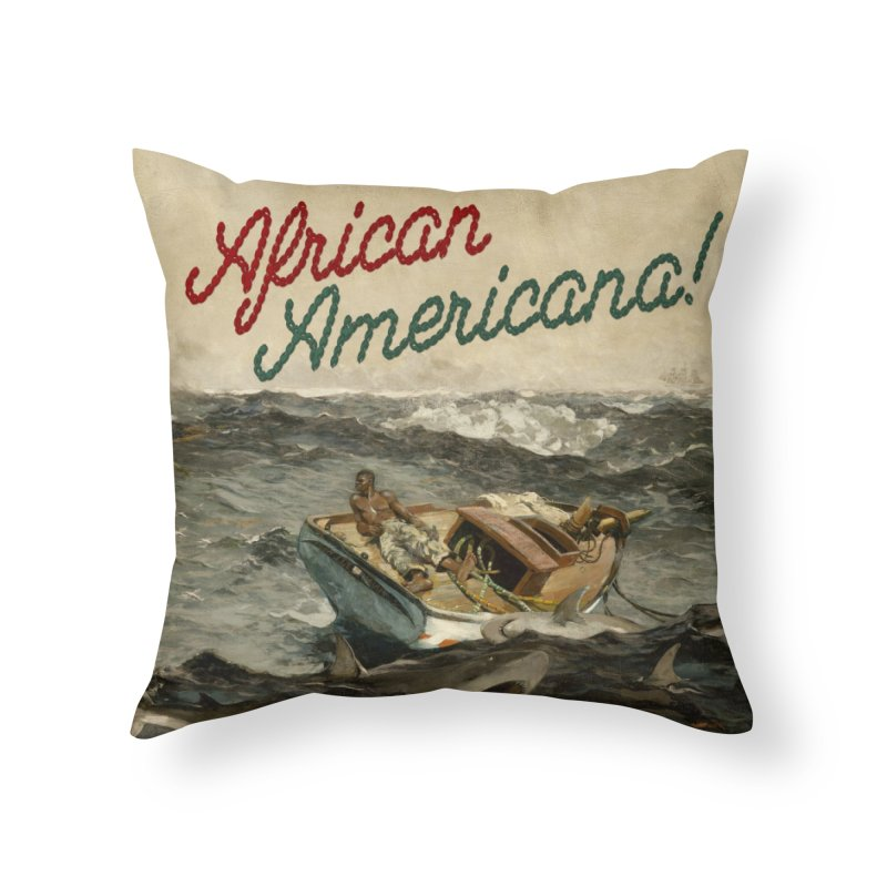 Black Sea Home Throw Pillow by FWMJ's Shop