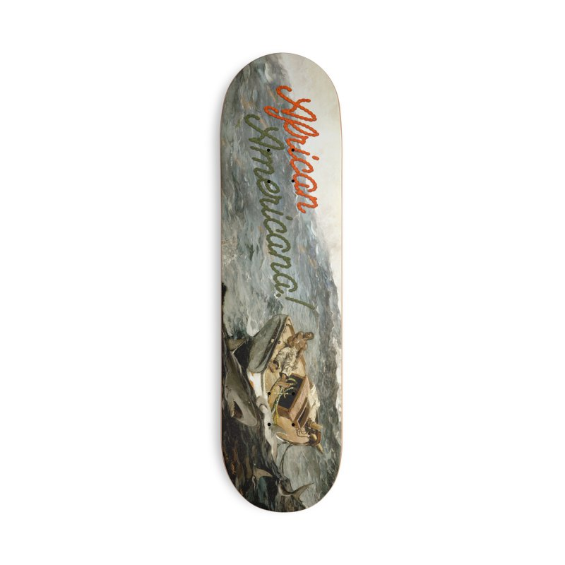 Black Sea Accessories Deck Only Skateboard by FWMJ's Shop