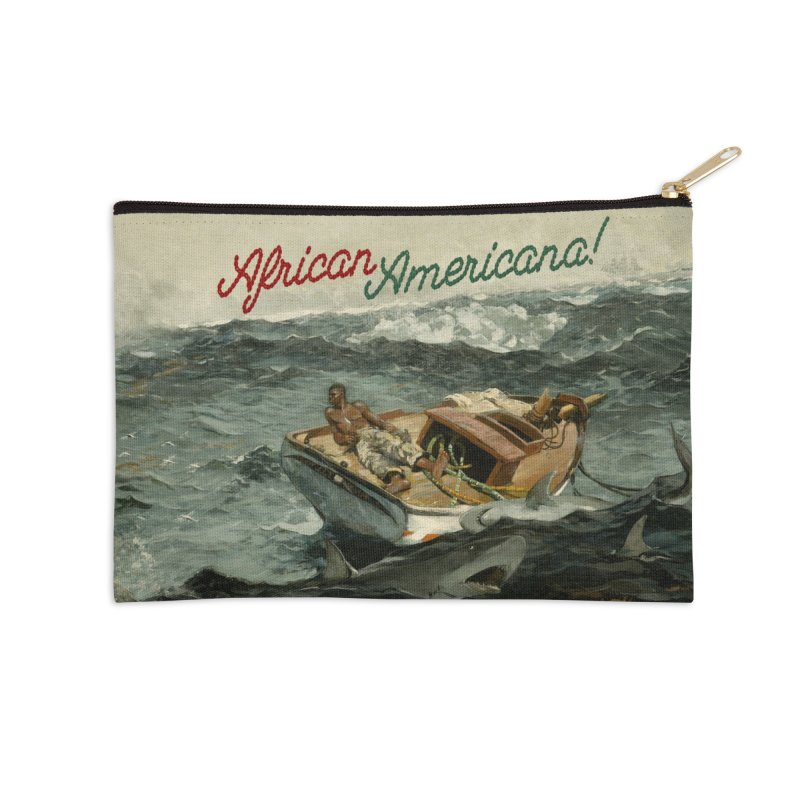 Black Sea Accessories Zip Pouch by FWMJ's Shop