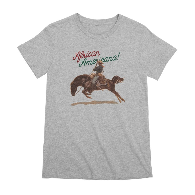 Mount Up! Women's Premium T-Shirt by FWMJ's Shop