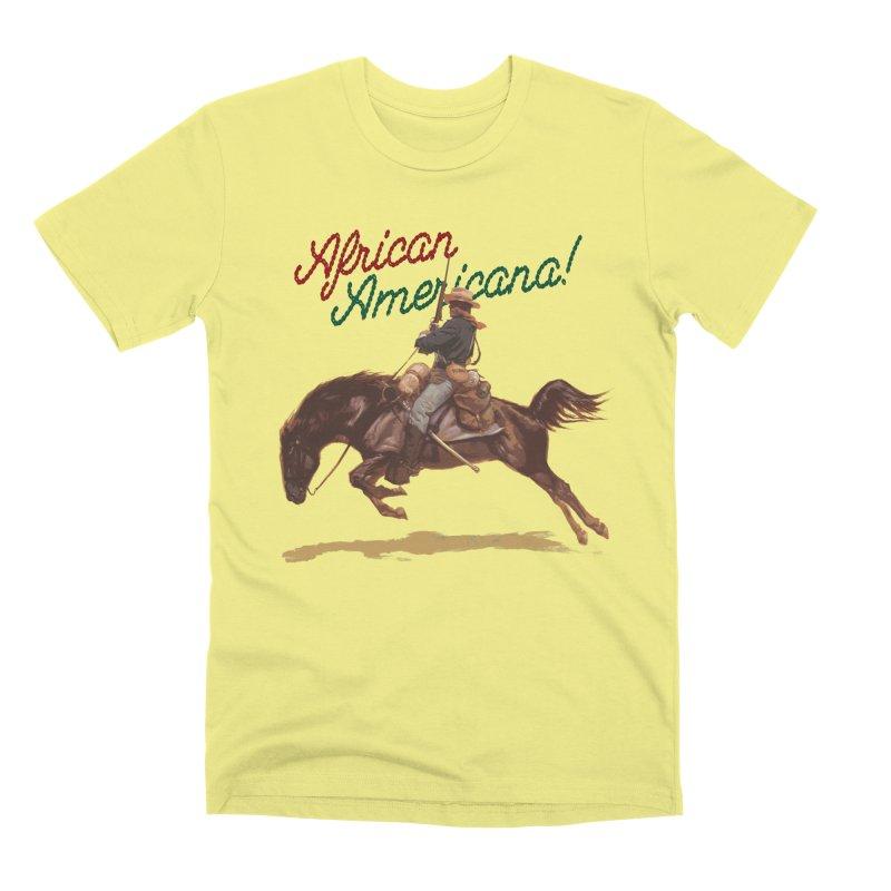 Mount Up! Men's Premium T-Shirt by FWMJ's Shop