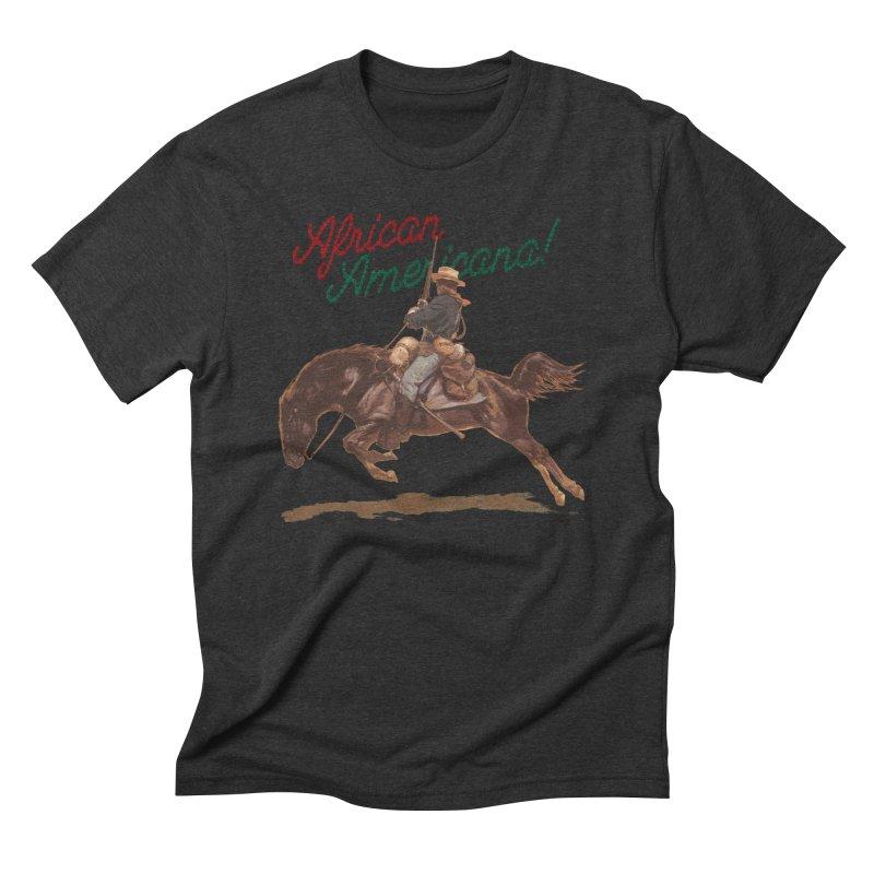 Mount Up! Men's Triblend T-Shirt by FWMJ's Shop