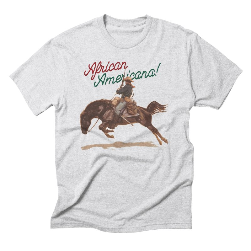 Mount Up! Men's Triblend T-Shirt by FWMJ's Shop