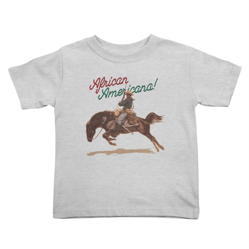 Mount Up! Kids Toddler T-Shirt by FWMJ's Shop
