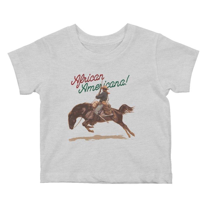 Mount Up! Kids Baby T-Shirt by FWMJ's Shop