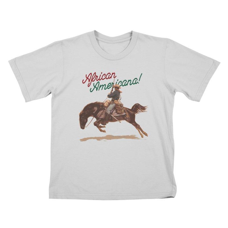 Mount Up! Kids T-Shirt by FWMJ's Shop