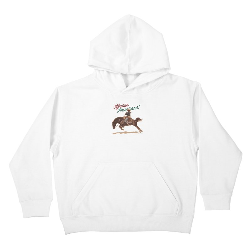 Mount Up! Kids Pullover Hoody by FWMJ's Shop