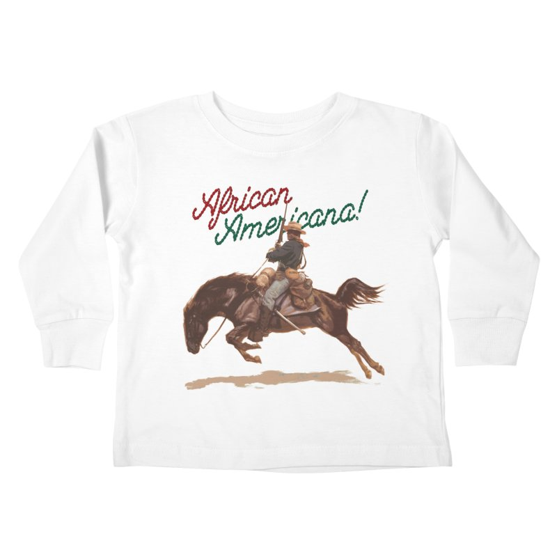 Mount Up! Kids Toddler Longsleeve T-Shirt by FWMJ's Shop