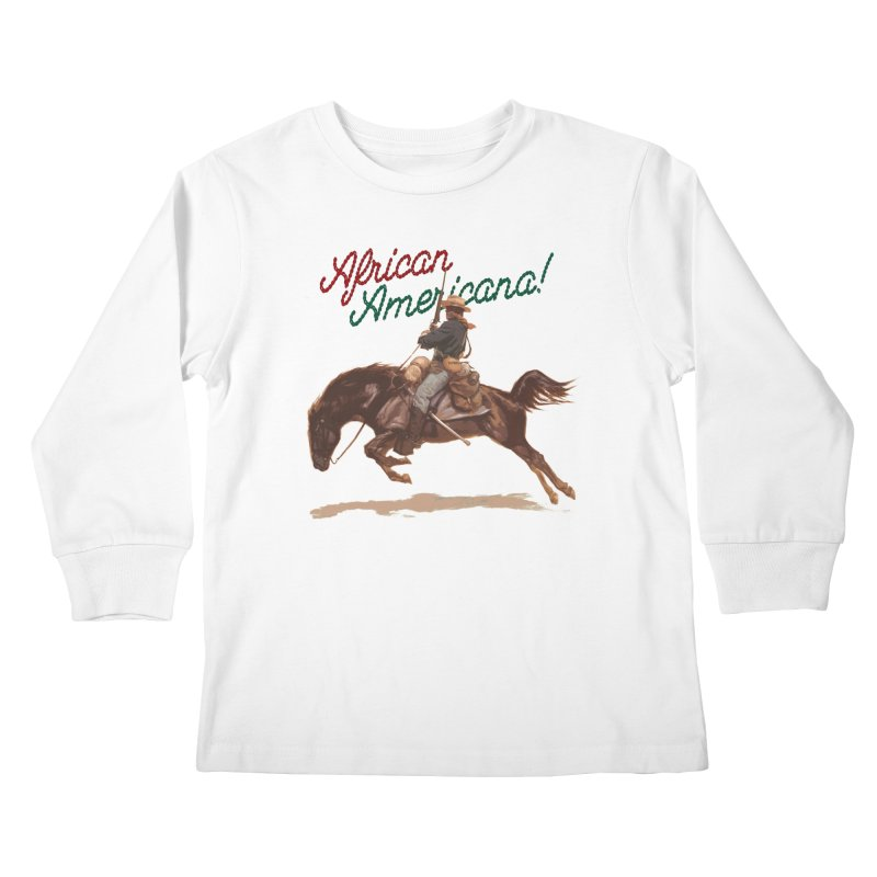 Mount Up! Kids Longsleeve T-Shirt by FWMJ's Shop