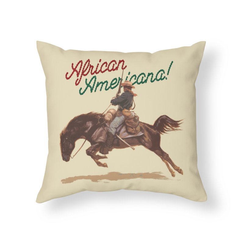 Mount Up! Home Throw Pillow by FWMJ's Shop