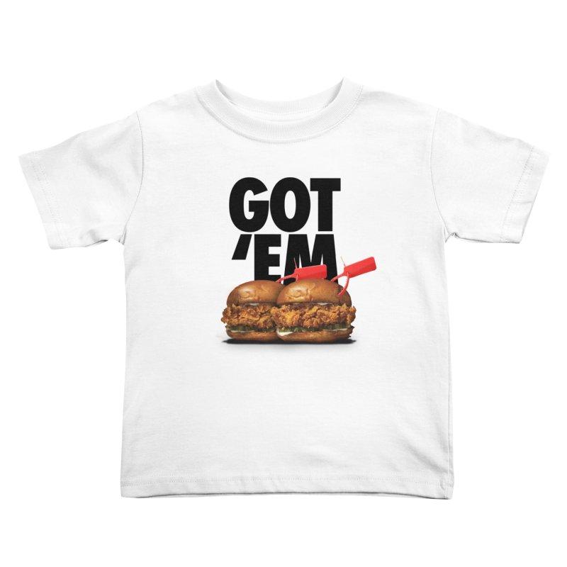 Got 'Em Kids Toddler T-Shirt by FWMJ's Shop