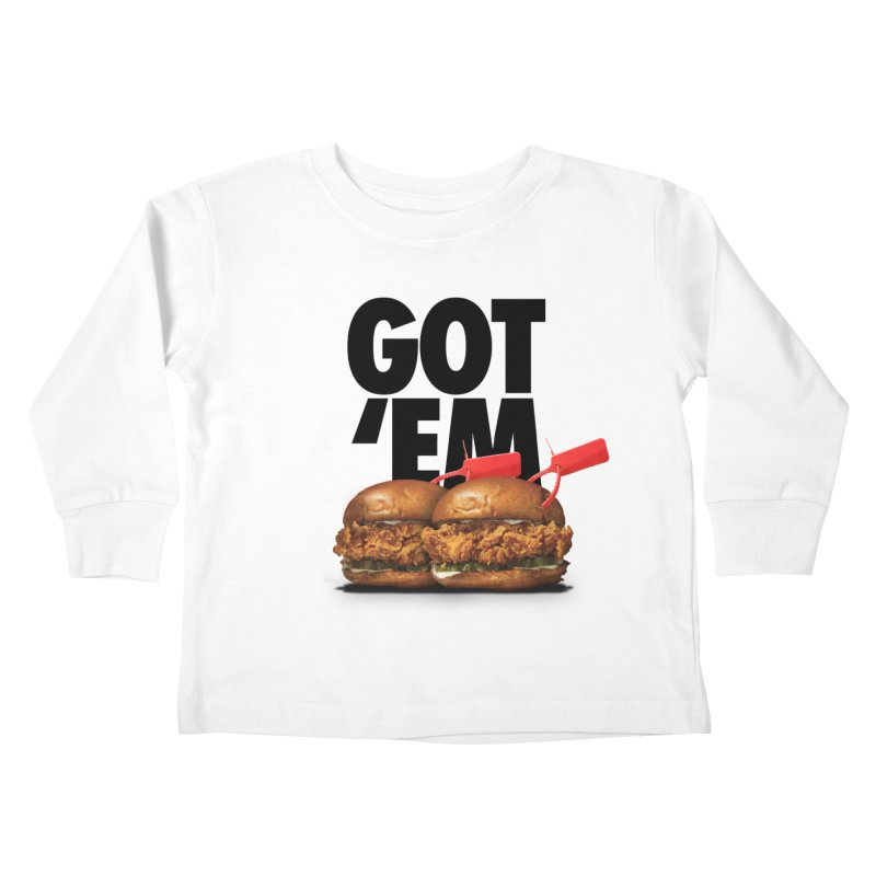 Got 'Em Kids Toddler Longsleeve T-Shirt by FWMJ's Shop
