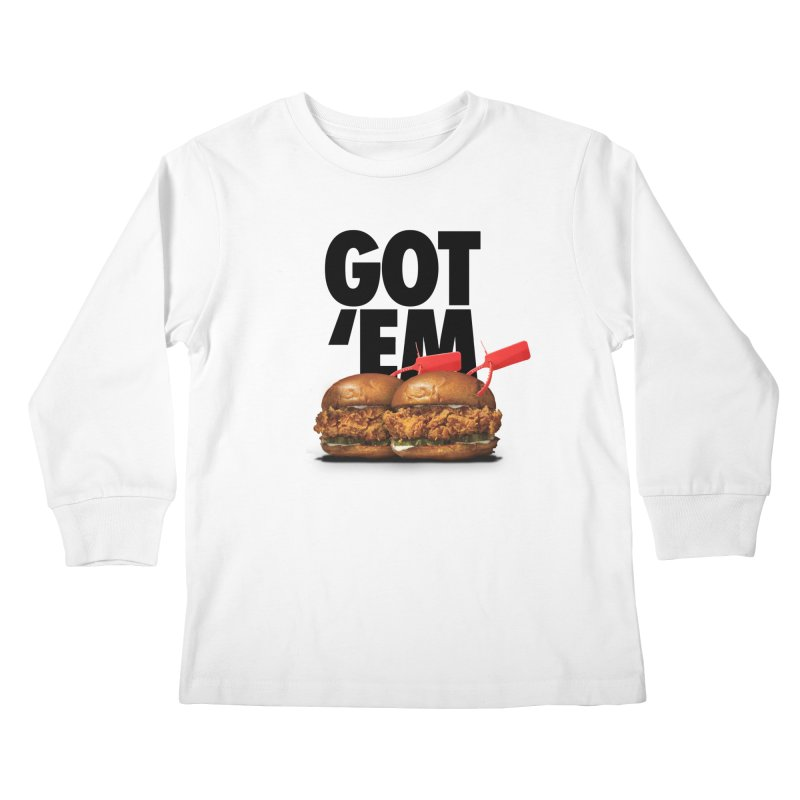 Got 'Em Kids Longsleeve T-Shirt by FWMJ's Shop