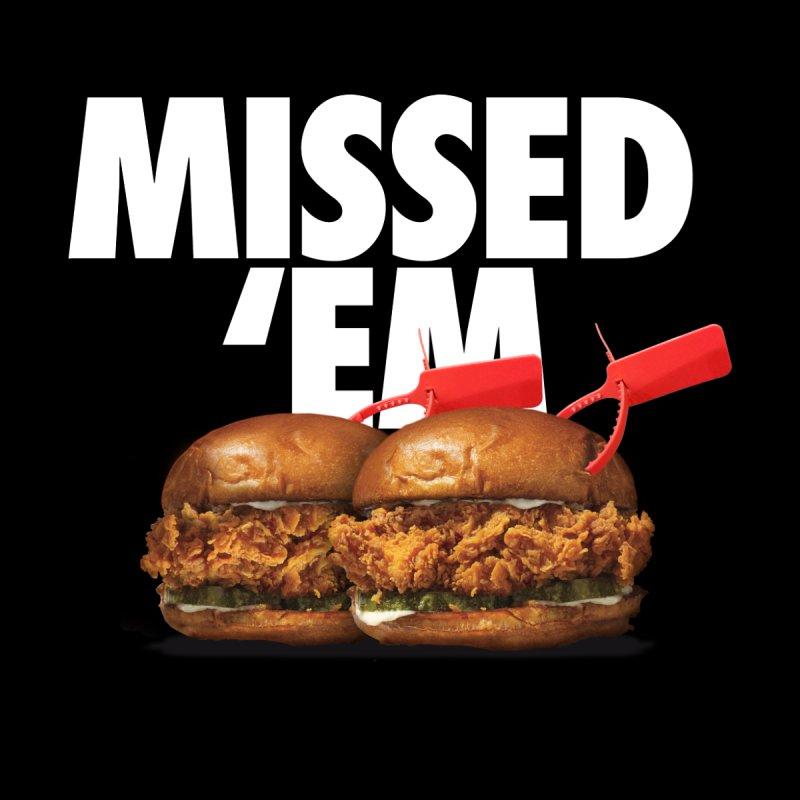 Missed 'Em Men's T-Shirt by FWMJ's Shop