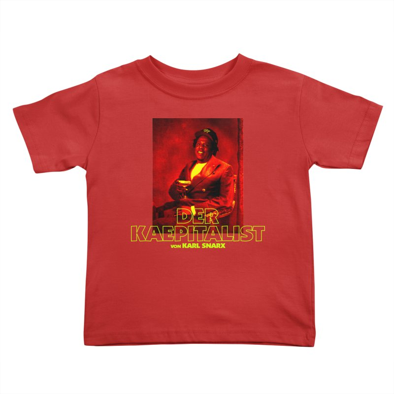 Kaepitalist Kids Toddler T-Shirt by FWMJ's Shop