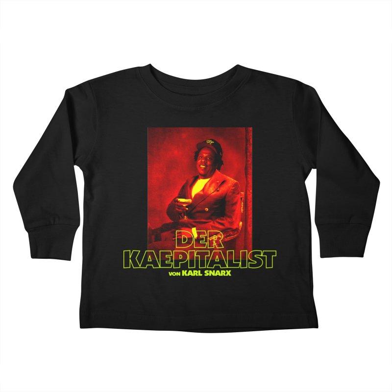 Kaepitalist Kids Toddler Longsleeve T-Shirt by FWMJ's Shop