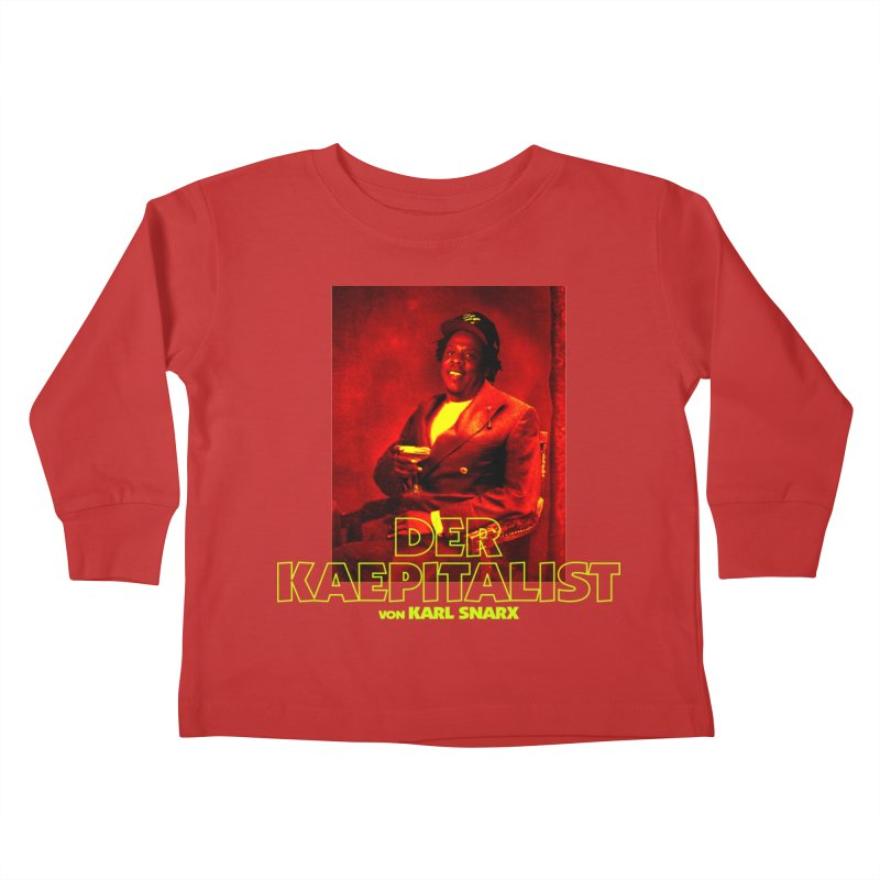 Kaepitalist Kids Toddler Longsleeve T-Shirt by FWMJ's Shop