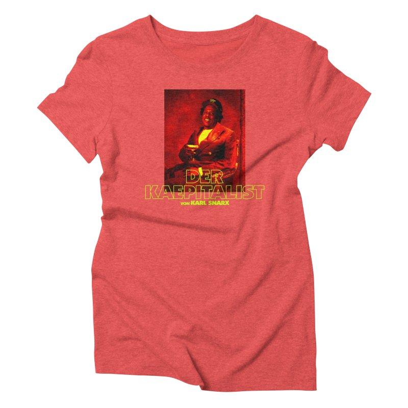 Kaepitalist Women's Triblend T-Shirt by FWMJ's Shop