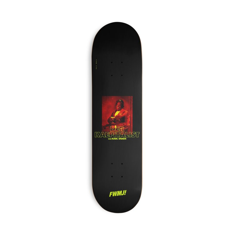 Kaepitalist Accessories Deck Only Skateboard by FWMJ's Shop