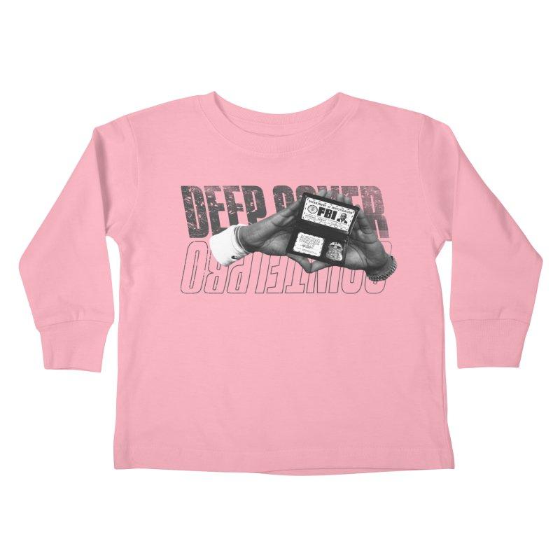DEEP COVER Kids Toddler Longsleeve T-Shirt by FWMJ's Shop