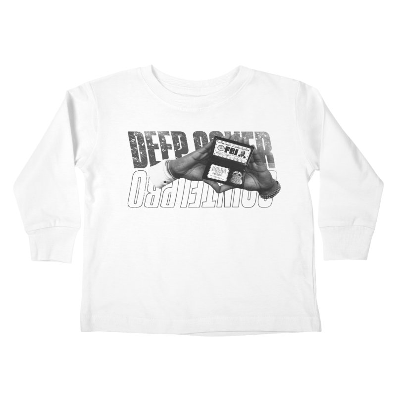 DEEP COVER Kids Toddler Longsleeve T-Shirt by FWMJ's Shop