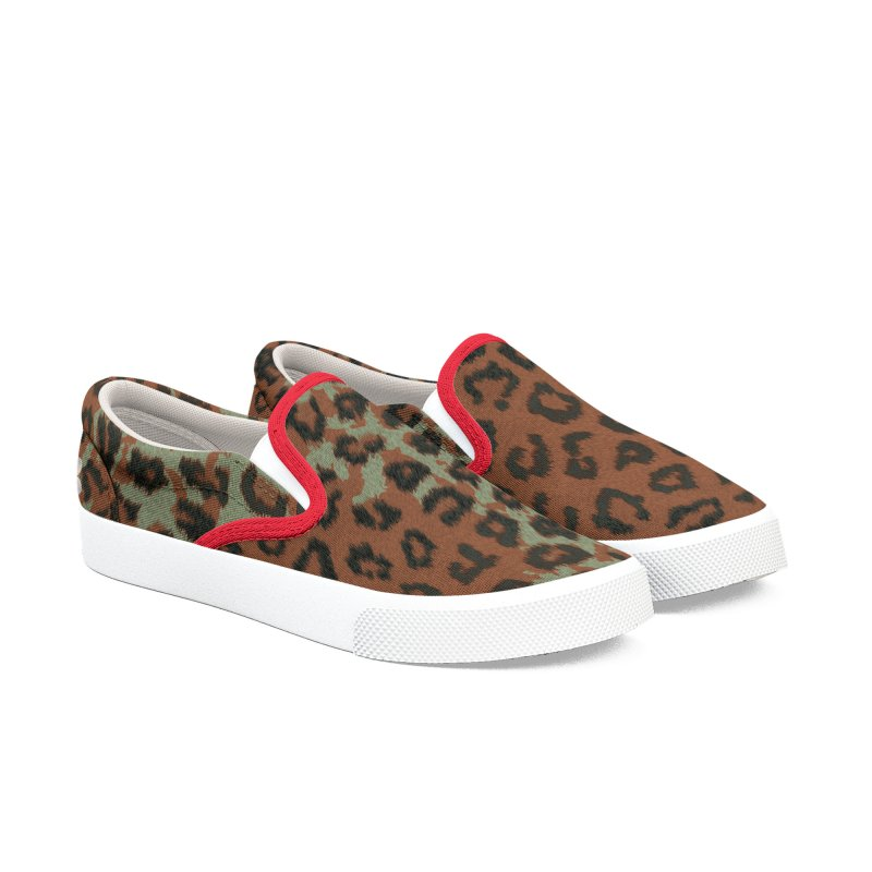 Rap Game Cat Lady № 1 Men's Slip-On Shoes by FWMJ's Shop
