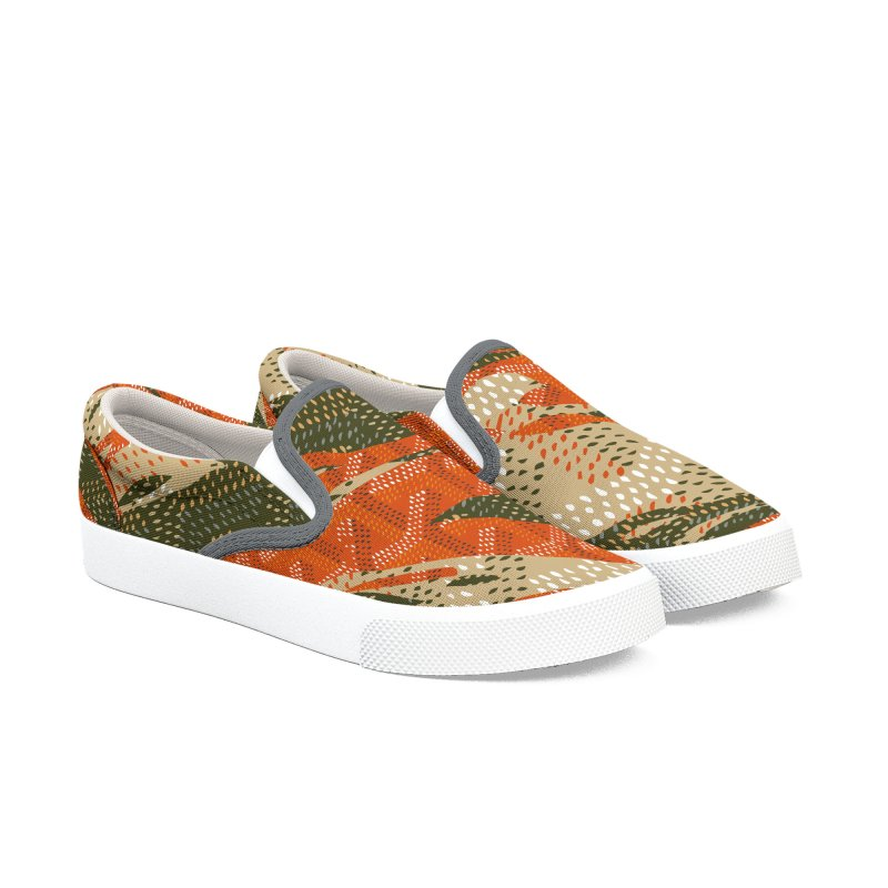 New 'Yard Camo AW19 Men's Slip-On Shoes by FWMJ's Shop