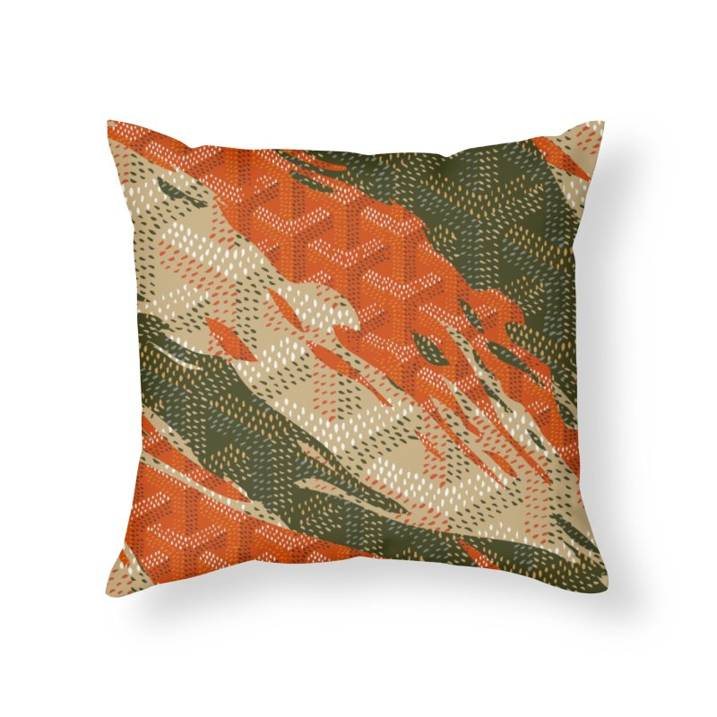 New 'Yard Camo AW19 Home Throw Pillow by FWMJ's Shop