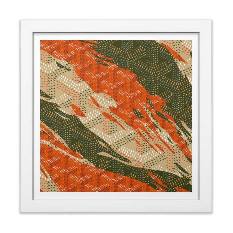 New 'Yard Camo AW19 Home Framed Fine Art Print by FWMJ's Shop