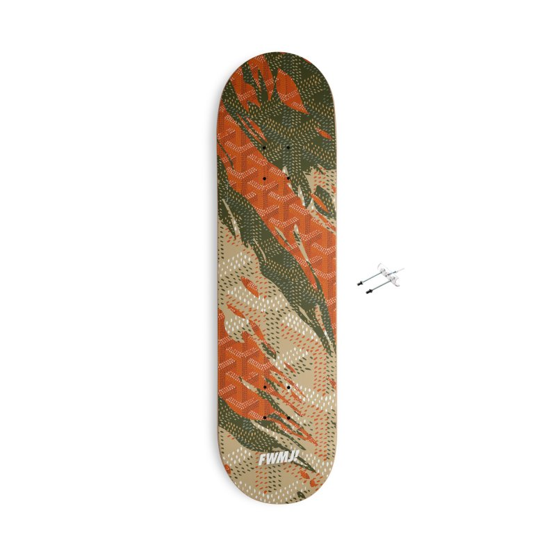 New 'Yard Camo AW19 Accessories With Hanging Hardware Skateboard by FWMJ's Shop