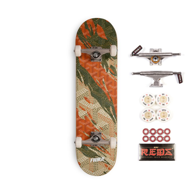 New 'Yard Camo AW19 Accessories Complete - Pro Skateboard by FWMJ's Shop