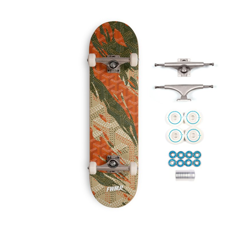 New 'Yard Camo AW19 Accessories Complete - Basic Skateboard by FWMJ's Shop