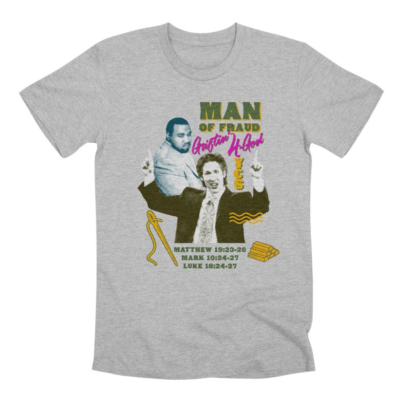 Man of Fraud Men's Premium T-Shirt by FWMJ's Shop